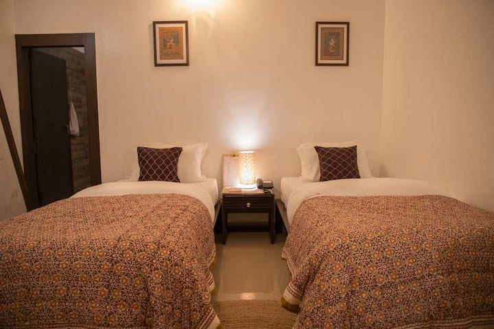 Namastay Varanasi is a luxury rural boutique stay