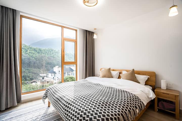 Ping An Ju • Yamabuki /Glass wall/Balcony/BIG ROOM
