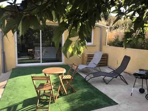 Studio avec terrasse à proximité d'Ajaccio