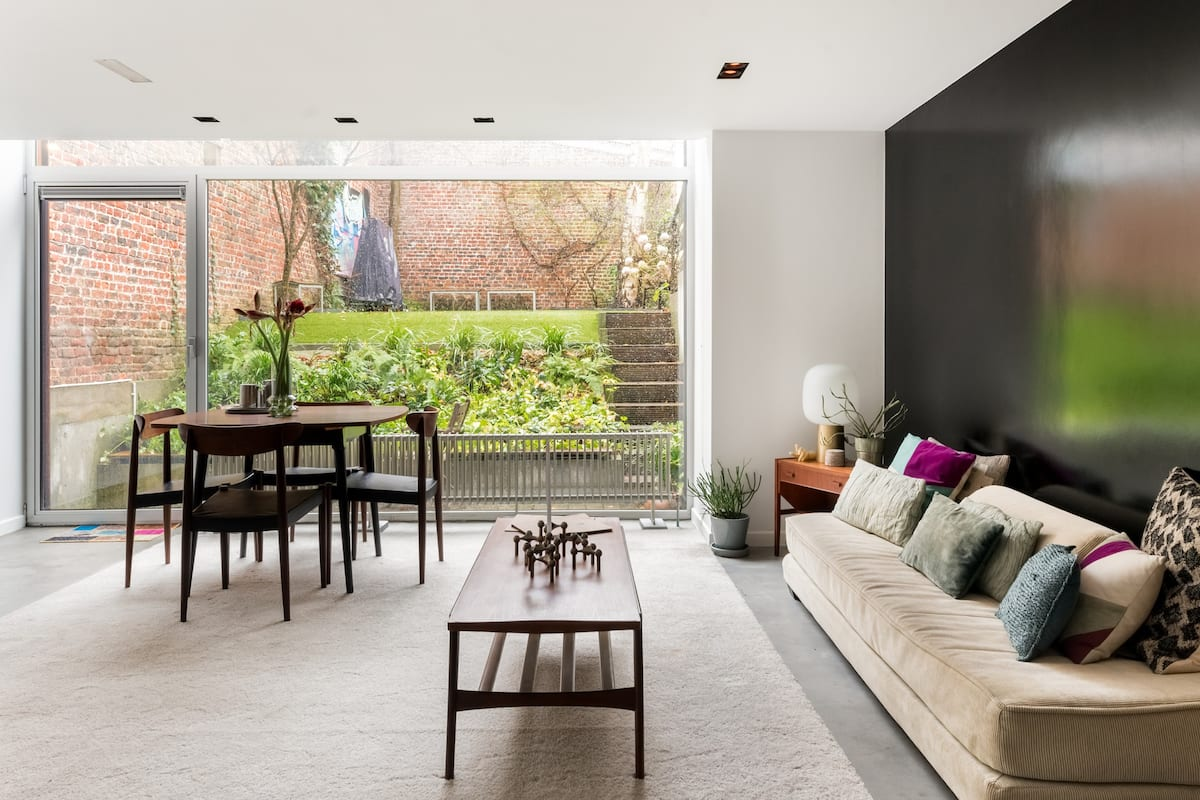 Shop for Furniture and Fashion from an Elegant Garden Flat