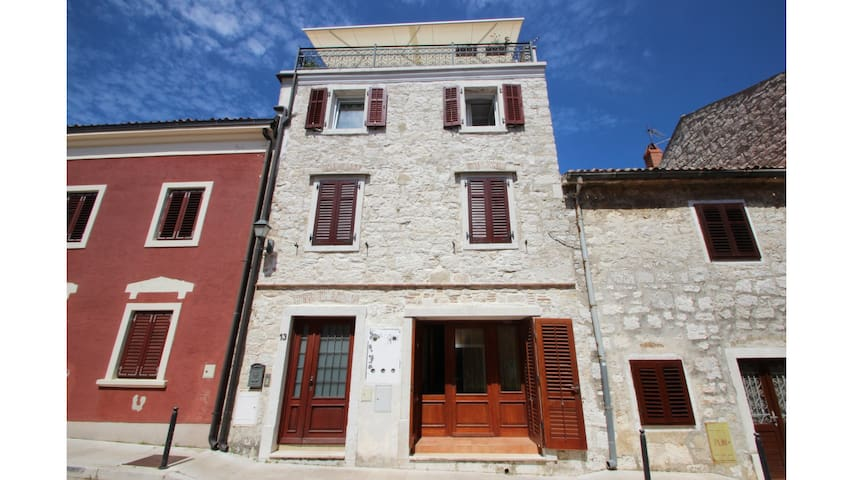 Studio in Vrsar close to the beach and the sea.