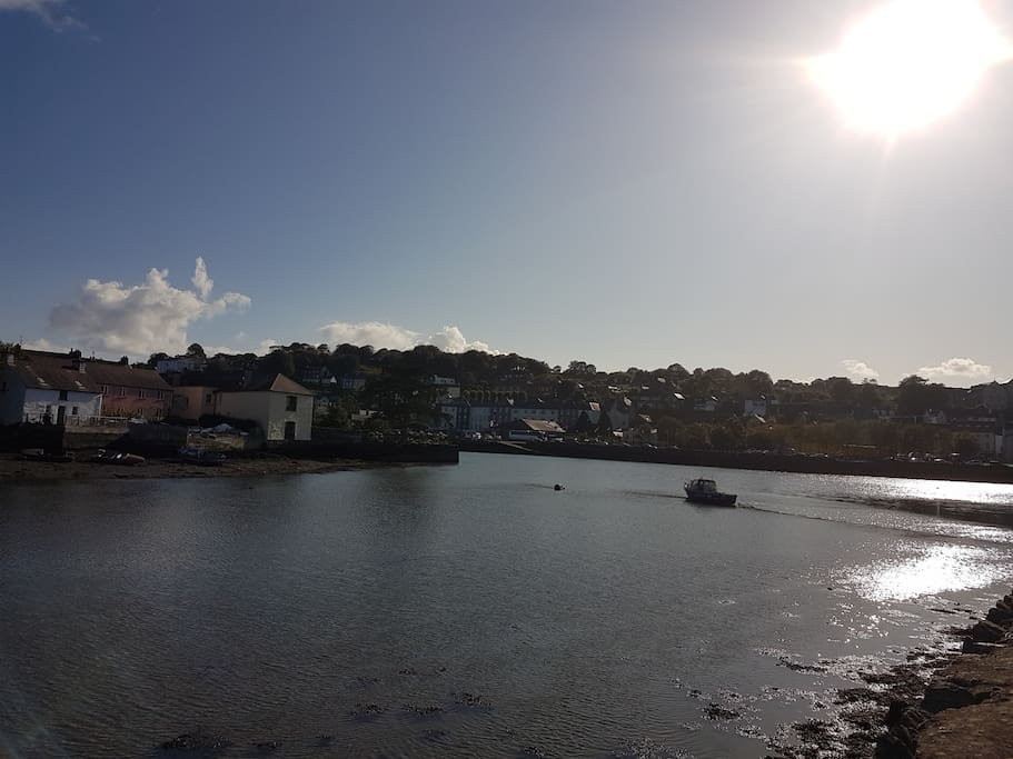 Kinsale town and harbour