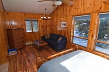 Camp Cable - a Deluxe Queen room you may request for the basic rate +$20