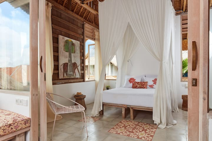 Architect Designed Studios/Lotus 2 - Ubud - Guesthouse