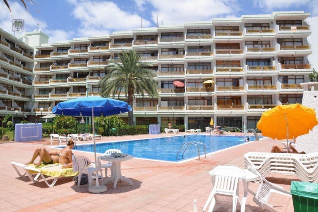 Apartamento centro playa del ingles flats for rent in maspalomas canarias spain - Apartamentos monterrey playa del ingles ...