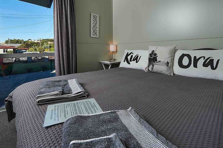 After a busy day of exploring Wanaka it is great to relax in a comfortable bed.