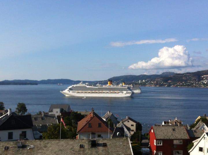 Bergen Penthouse seaview, 100 sqm.!