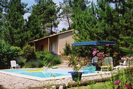 Serene Holiday Home in Les Salelles with Swimming Pool