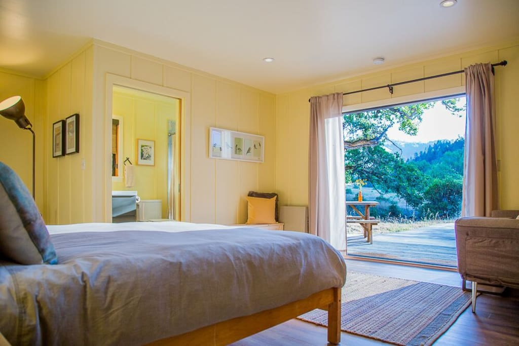 Bedroom with Valley View