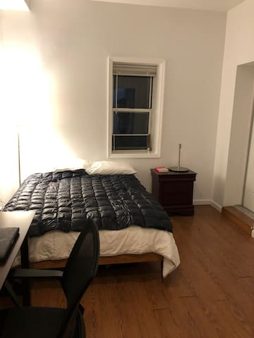 Huge and beautiful bedroom at Bed-Stuy
