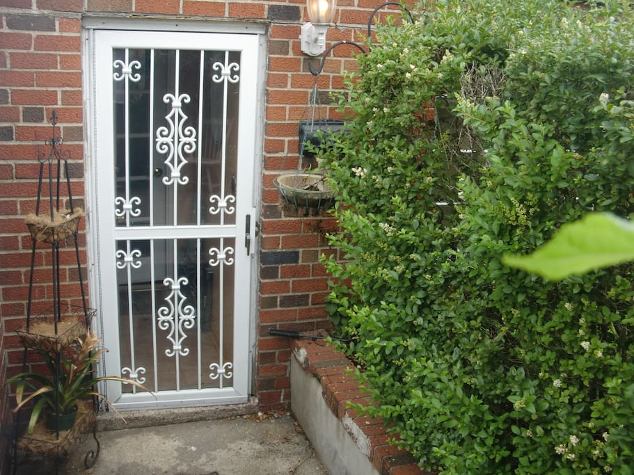Private Entrance with Secure Keyless Entry