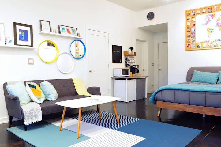 Modern studio in liveliest ATL neighborhood