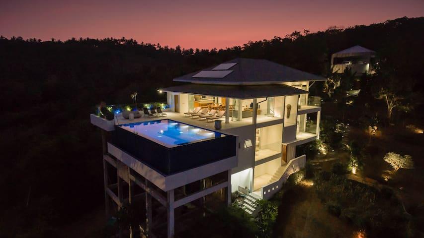 Baan Kuno: 'Wow' factor sea-views - Ko Samui - Villa