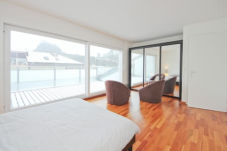 fantastic bedroom / center of Sion - Sion - Bed & Breakfast