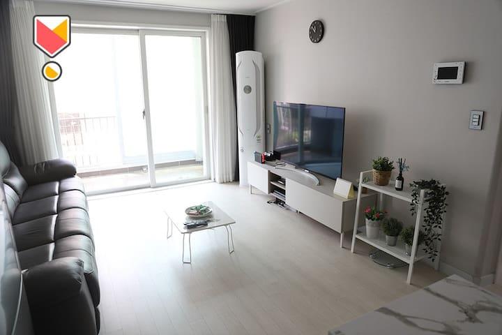 ★★일산/화정역 아파트 전체 Clean & Modern Apt (2 or 3 person)