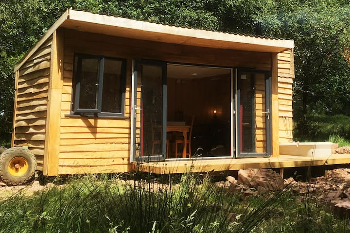Holmcroft hut at pleasant escape Tiverton