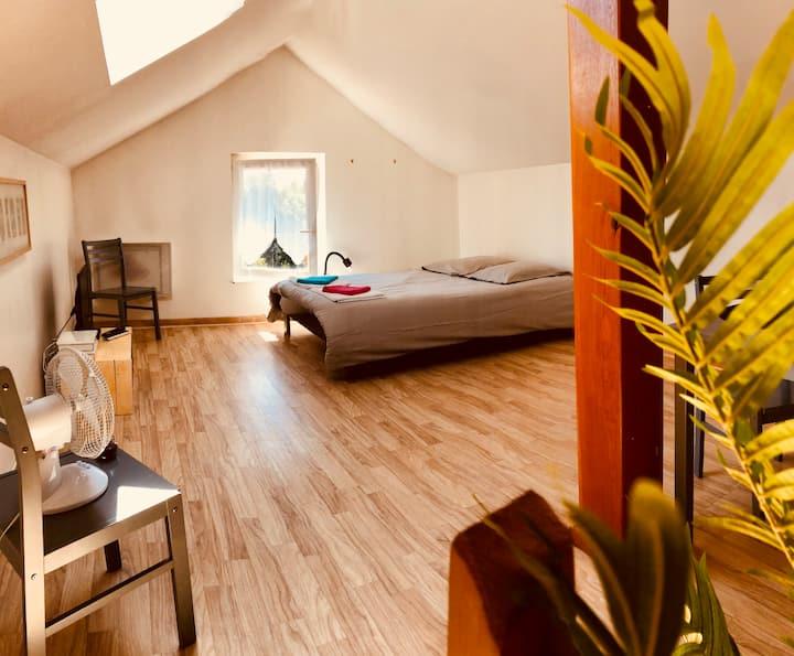 Appartement 2 personnes à Châlons en Champagne.