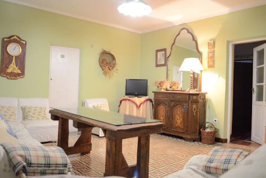Sala de estar, Casa Rural La Pequeña B