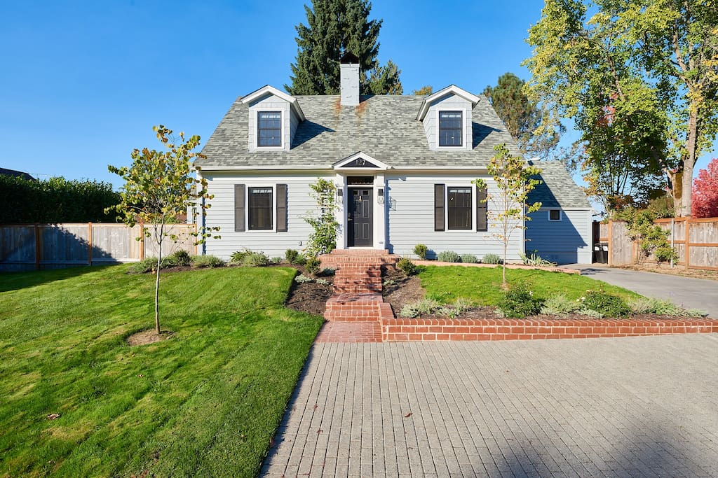 1935 historic home newly renovated in 2017 with high-end finishes