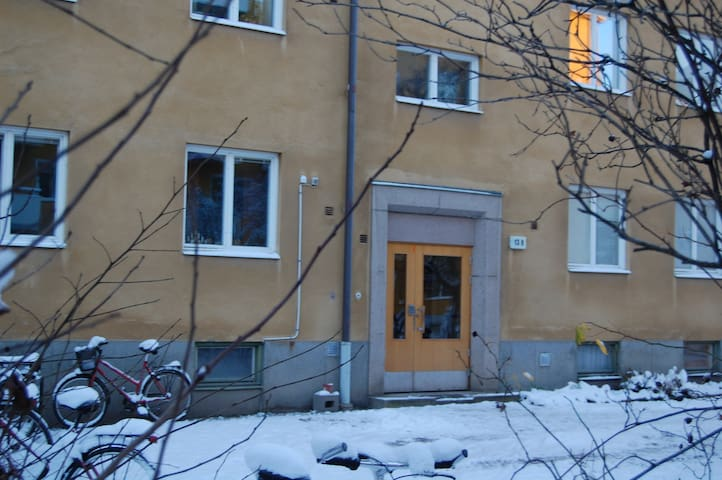 Cozy 1-bedroom apt central Uppsala