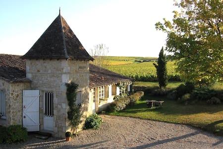 B&B Au Milieu des vignes Bordeaux  - Bommes - B&B