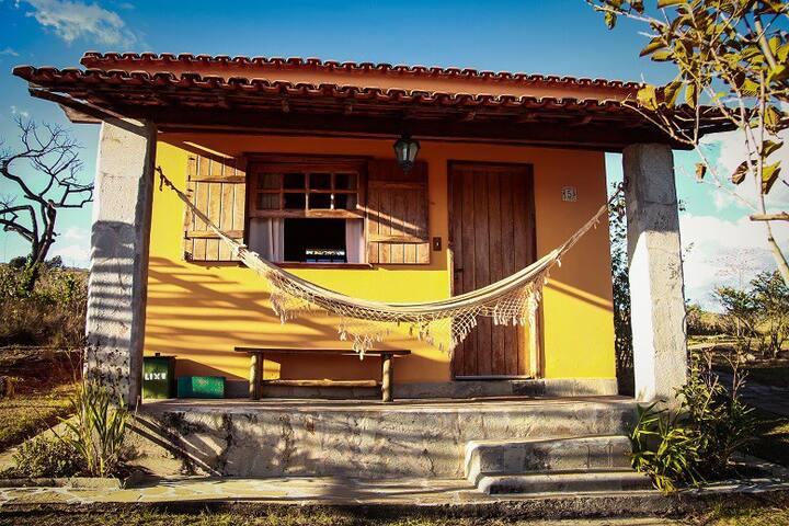 Chalé Laranja - Céu e Serra