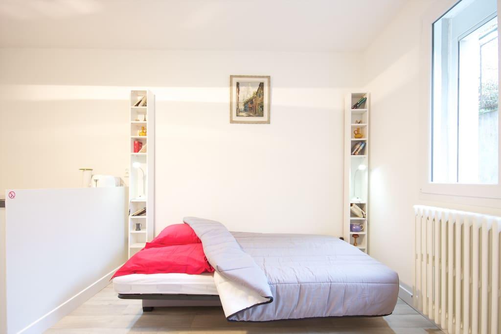 Studio meubl la chapelle appartements louer - Location appartement meuble ile de france ...