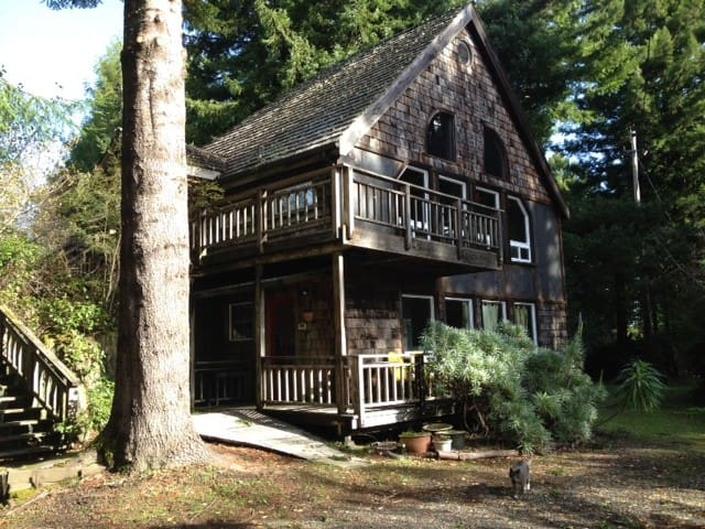 Retreat in the Redwoods / near Ave of the Giants - Rio Dell - Huis