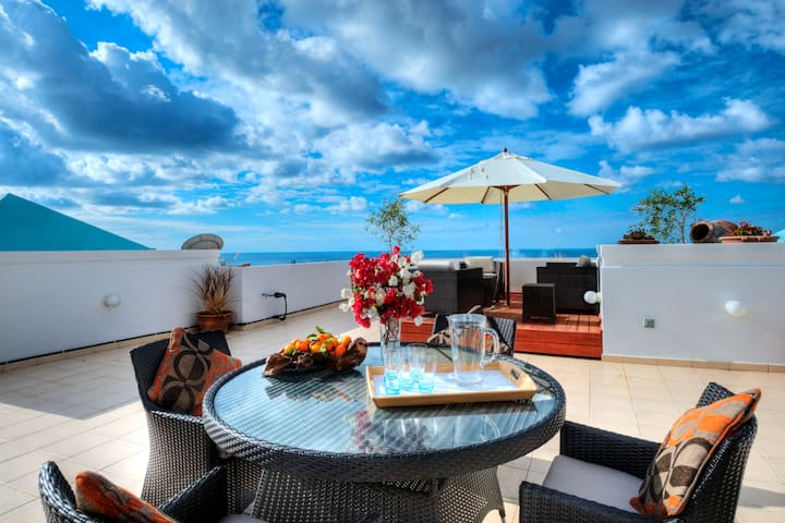 Sea view Penthouse in Paphos  - Peyia  - Daire