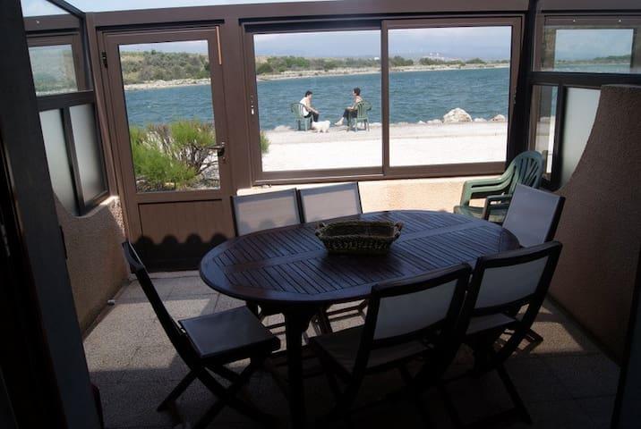 Maisonnette face au lac marin et près du port - Leucate - 아파트(콘도미니엄)