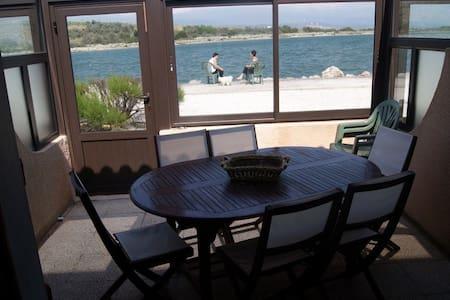Maisonnette face au lac marin et près du port - Leucate
