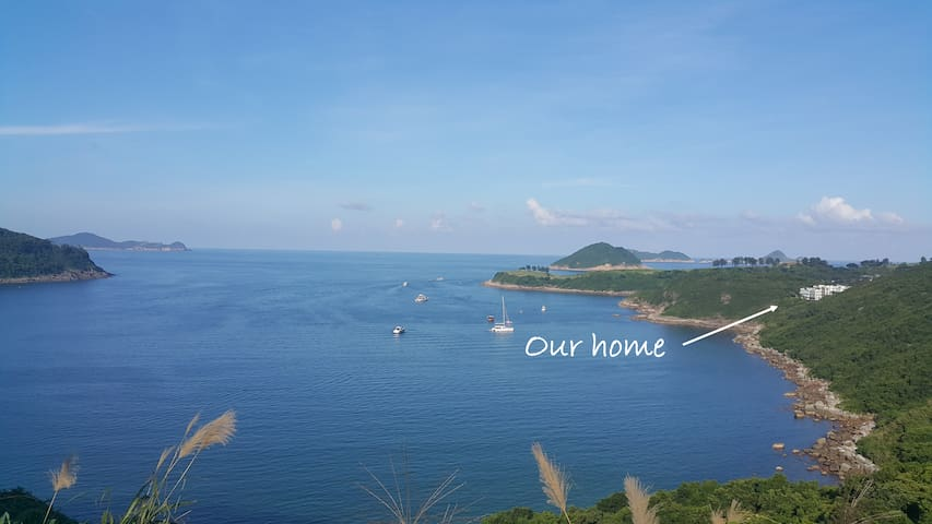 ClearwaterBay house, outstanding sea view & garden