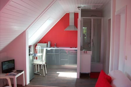 Lux. studio to Ostend by Bruges free bike rental - Oostende - Apartament