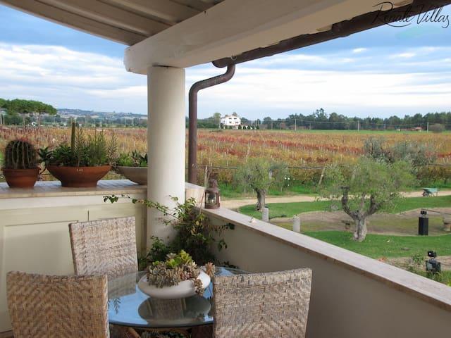 Villa with private pool, near beach - Tarquinia - Leilighet