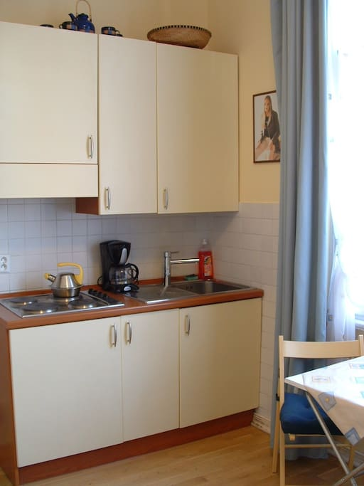 room - kitchenette