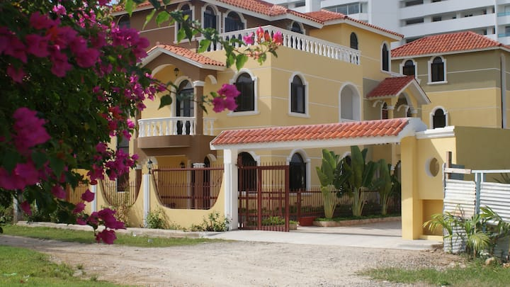 A colorful villa by the beach #1 of 3 villas