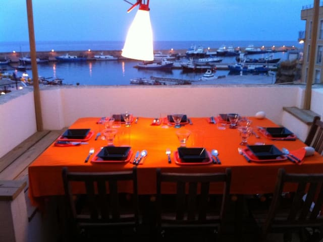 Romantic loft ideal couples with views to sea