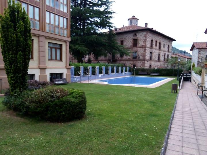 Piso con piscina en Ezcaray