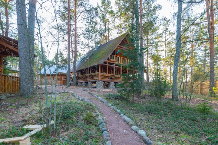 Holiday home on Luga river 2