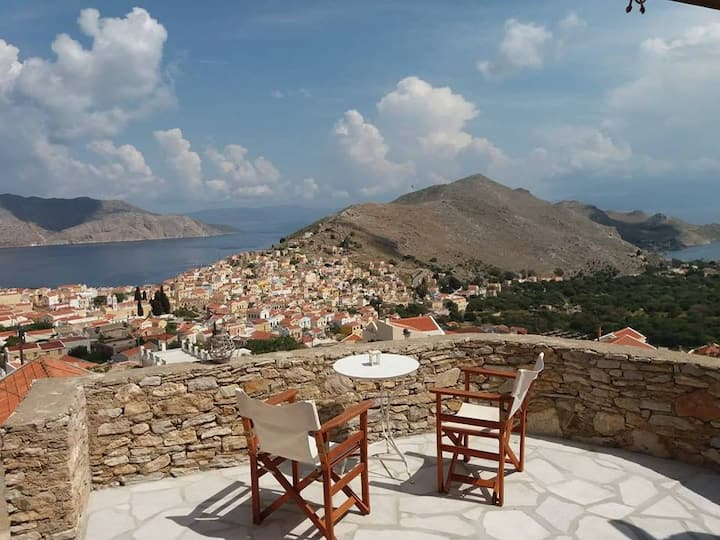 Symi View - Unique house, stunning view