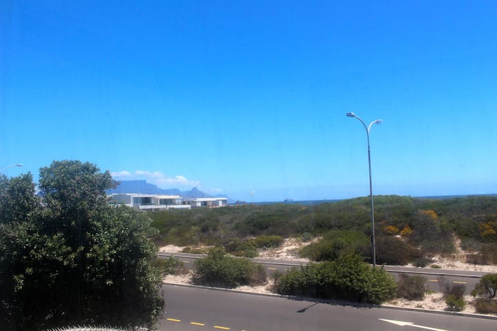 Big Bay apartment with a view of Table Mountain