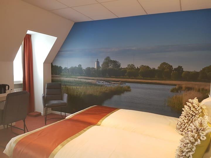 Knusse hotelkamer in een gezellig familiehotel