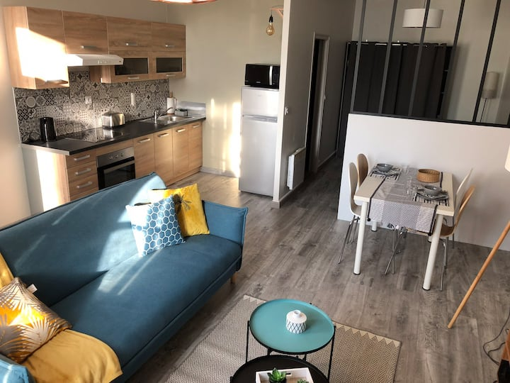 Appartement ideal couple, 10 mn du Puy du fou