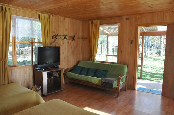 Cabaña Lago Ranco, sector Riñinahue