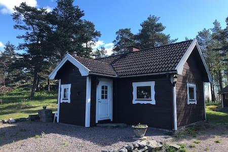 Stuga vid Vänern