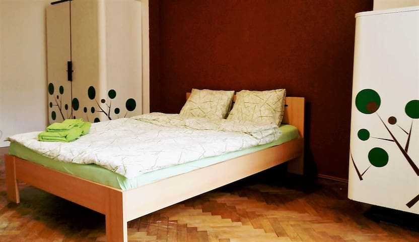 Nice, spacious, bright room in retro style. - Prag - Daire
