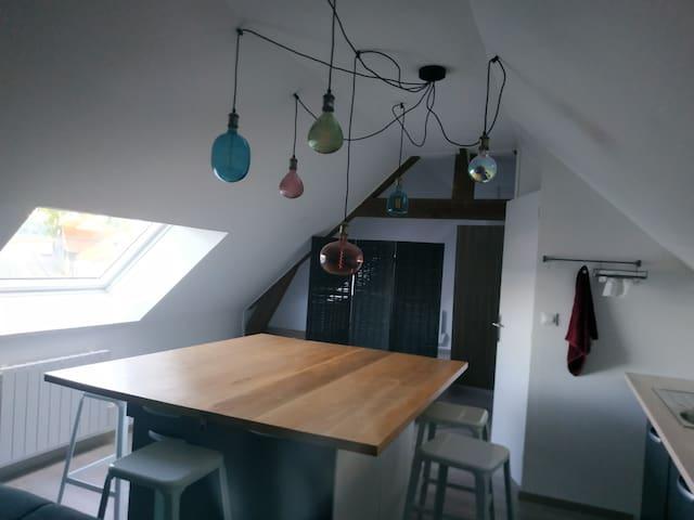 Montreuil-sur-Mer: Appartement refait à neuf