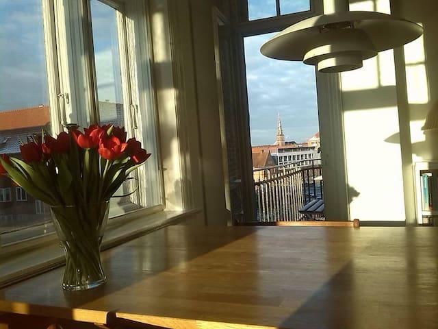 Stor lys lejlighed - tæt på kunst, kultur og natur - København - Apartment