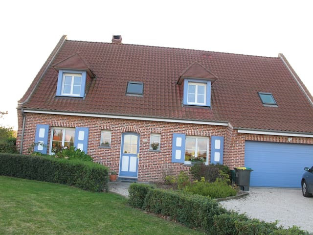 Big country home in Flanders - Steenbecque - บ้าน