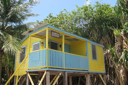 # 8 Cabana - steps to the beach with private pier - Caye Caulker